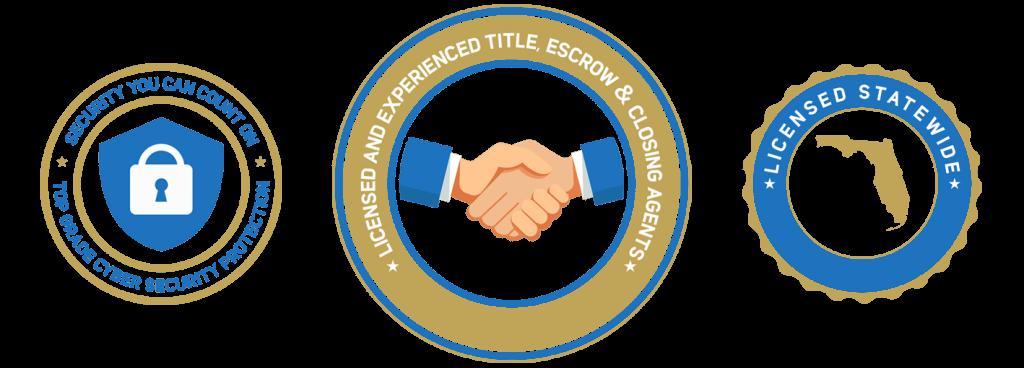Florida Real Estate Title & Closings, Inc. badges
