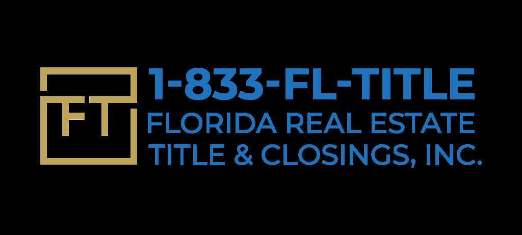 Florida RE Title & Closings, Inc. logo 2020 color